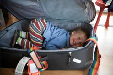 traveling with tots