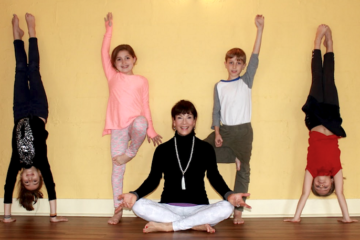 yoga, kids, balanced