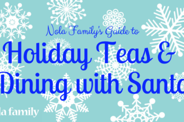 Holiday teas and dining with Santa guide